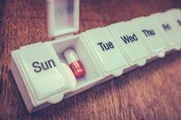 Seven Day Pill Box