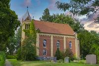 Dorfkirche Zechlinerhuette, Brandenburg, Deutschland