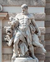 Hercules and Cerberus, Hofburg Palace, Vienna