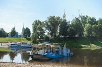 In Russia, the city of Vologda, a passenger ship sank on August 21, 2020