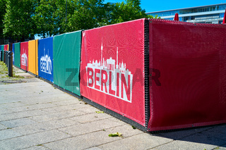 Barrieren zur Terrorabwehr in Berlin