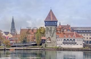 Rheintorturm und Münster Konstanz