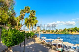 Embankment in Aswan