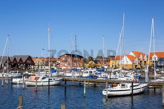 Harbour in Hundested, Denmark