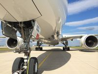 A350 beim Schlepp