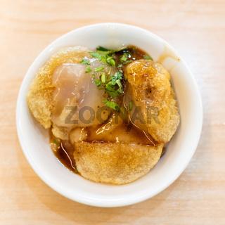 Taiwanese Meatballs snacks