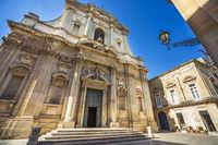 At the Chiesa di Sant'Irene church in Lecce Puglia Italy