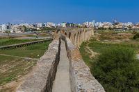 Old Aqueduct in Larnaca Cyprus