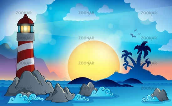 Lighthouse theme image 9 - picture illustration.