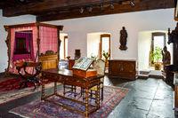 Bedroom of Vianden castle