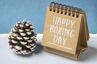 Happy Boxing Day greeting card