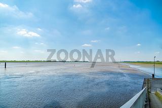 Ems Sperrwerk in Ostfriesland