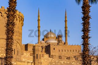 Mosque of Saladin Citadel, Salah El-Deen square, Cairo, Egypt