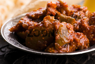 South Indian Lemon Pickle is a spicy tangy pickle
