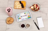 Organic food and tablet pc