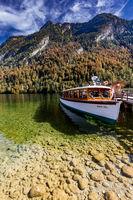 Boot am Königssee