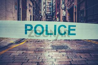London Crime Scene