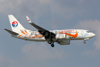 China Eastern Boeing 737-700 Sonderbemalung
