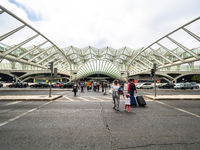 Oriente Station, Garo do Oriente, Lisbon, Portugal, Jul 2017