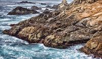 Garrapata State Beach Ocean Waves