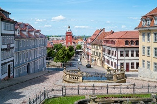 Altstadt von Gotha in Thüringen