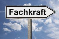 Wegweiser Fachkraft | signpost Fachkraft (Specialist)