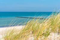 Weiße Sandstrände an der Ostseeküste im Bundesland Mecklenburg-Vorpommern