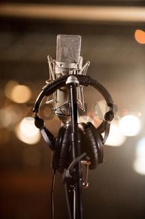 Recording Studio Bokeh
