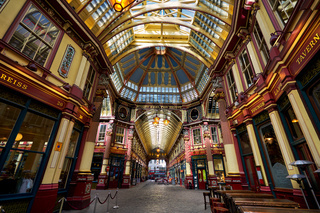 Leadenhall Market in London, England