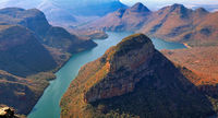 Blyde River Canyon an der Panorama Route, Mpumalanga, Südafrika, Blyde River Canyon at Panorama route in South Africa