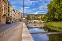 Latin Bridge in Sarajevo - Bosnia and Herzegovina