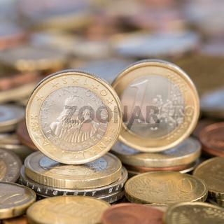 1 Euro Münze aus Slowenien