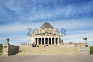 melbourne war memorial in australia