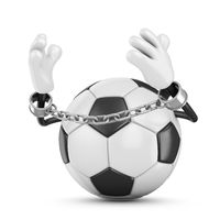 Ball with a chain