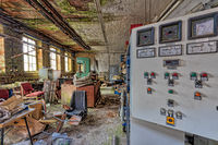 Industrie Lost Places verlassene Werkstatt Werkhalle