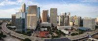 Aerial Views Of The City Of Charlotte, North Carolina