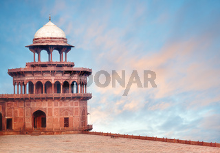 Fort Tower of Taj Mahal complex