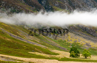 Exotic landscape from the Highlands of Scotland.