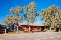 Mt Ebenezer Roadhouse in Outback Australia