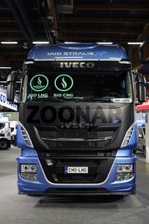 Iveco Stralis NP 460 on Transport-Logistics 2019, Helsinki, Finland