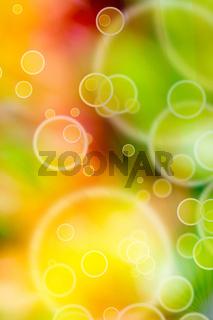 colorful background with bubbles