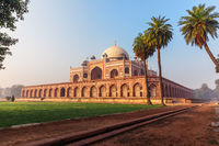 Humayun's Tomb, beautiful sunny day view, New Delhi, India