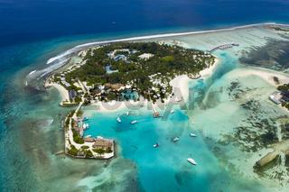 Touristeninsel, Kandooma, Malediven