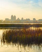 River Dnipro Obolon Kyiv, Ukraine