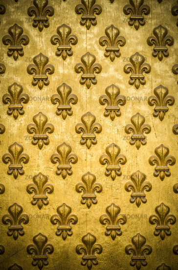 French Royal Flower Background Pattern