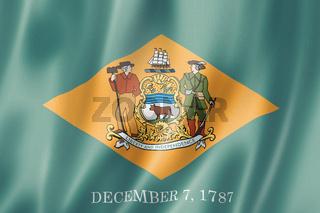 Delaware flag, USA