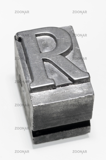 letter R isolated