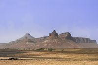 Felsformation in der Sahara