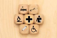 Gesundheitswesen gegen Krankheit