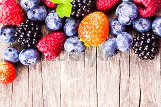 Berries close up